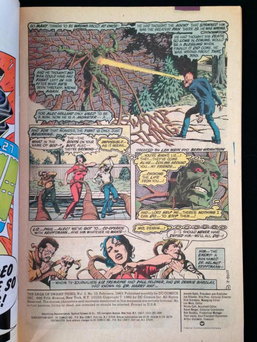 Swamp Thing 1-17 Pasko Collection (16)