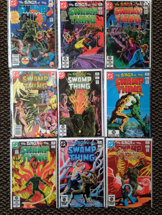 Swamp Thing 1-17 Pasko Collection (2)