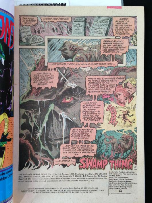 Swamp Thing 1-17 Pasko Collection (25)