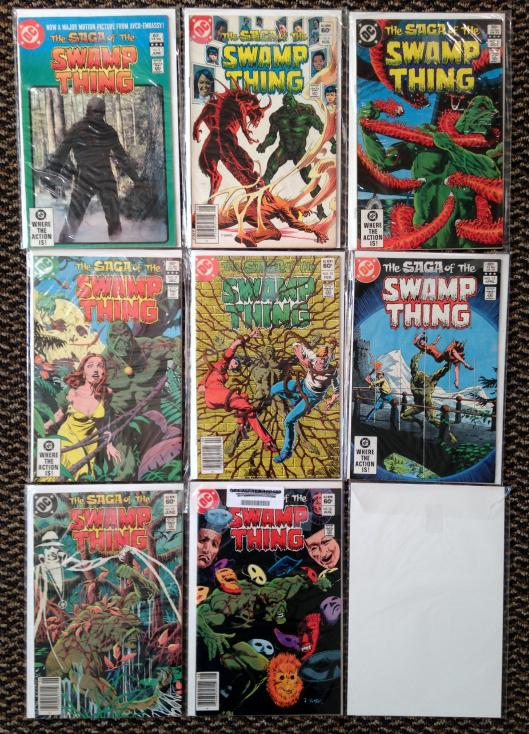 Swamp Thing 1-17 Pasko Collection (3)