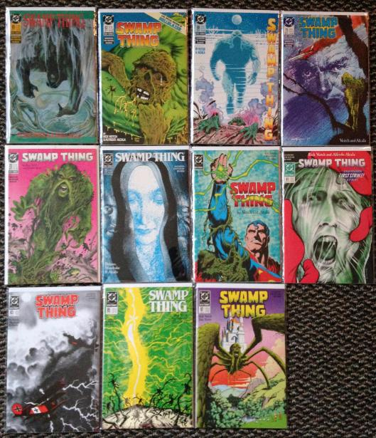 Swamp Thing Rick Veitch collection (3)