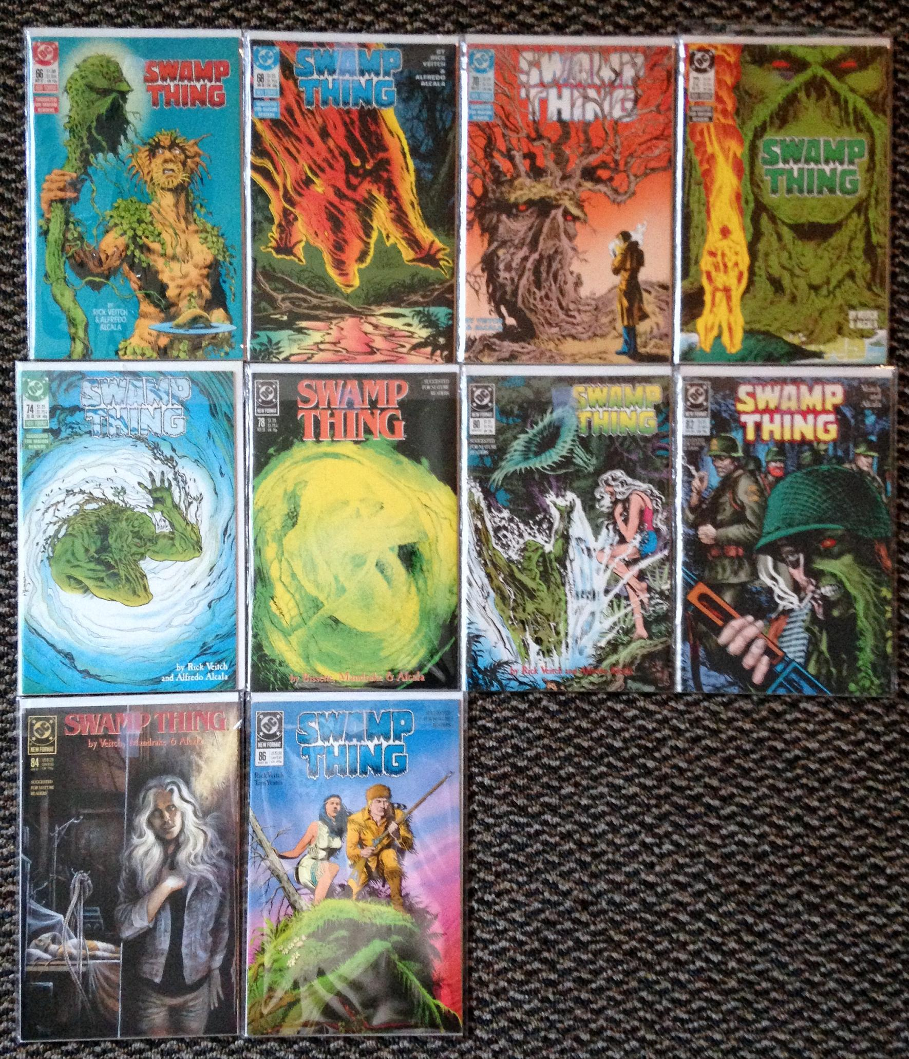 Swamp Thing Rick Veitch collection (4)