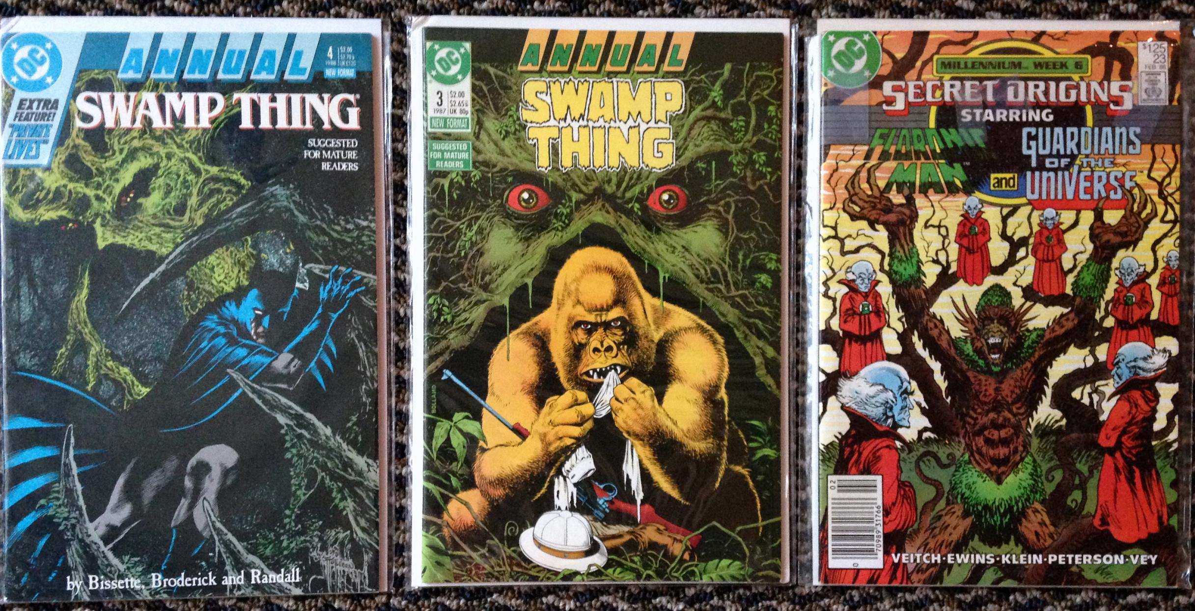Swamp Thing Rick Veitch collection (4a)