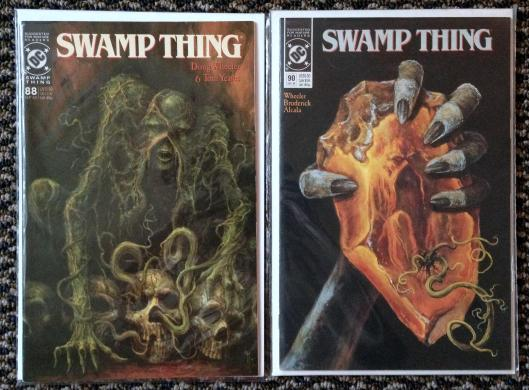 Swamp Thing Rick Veitch collection (5)