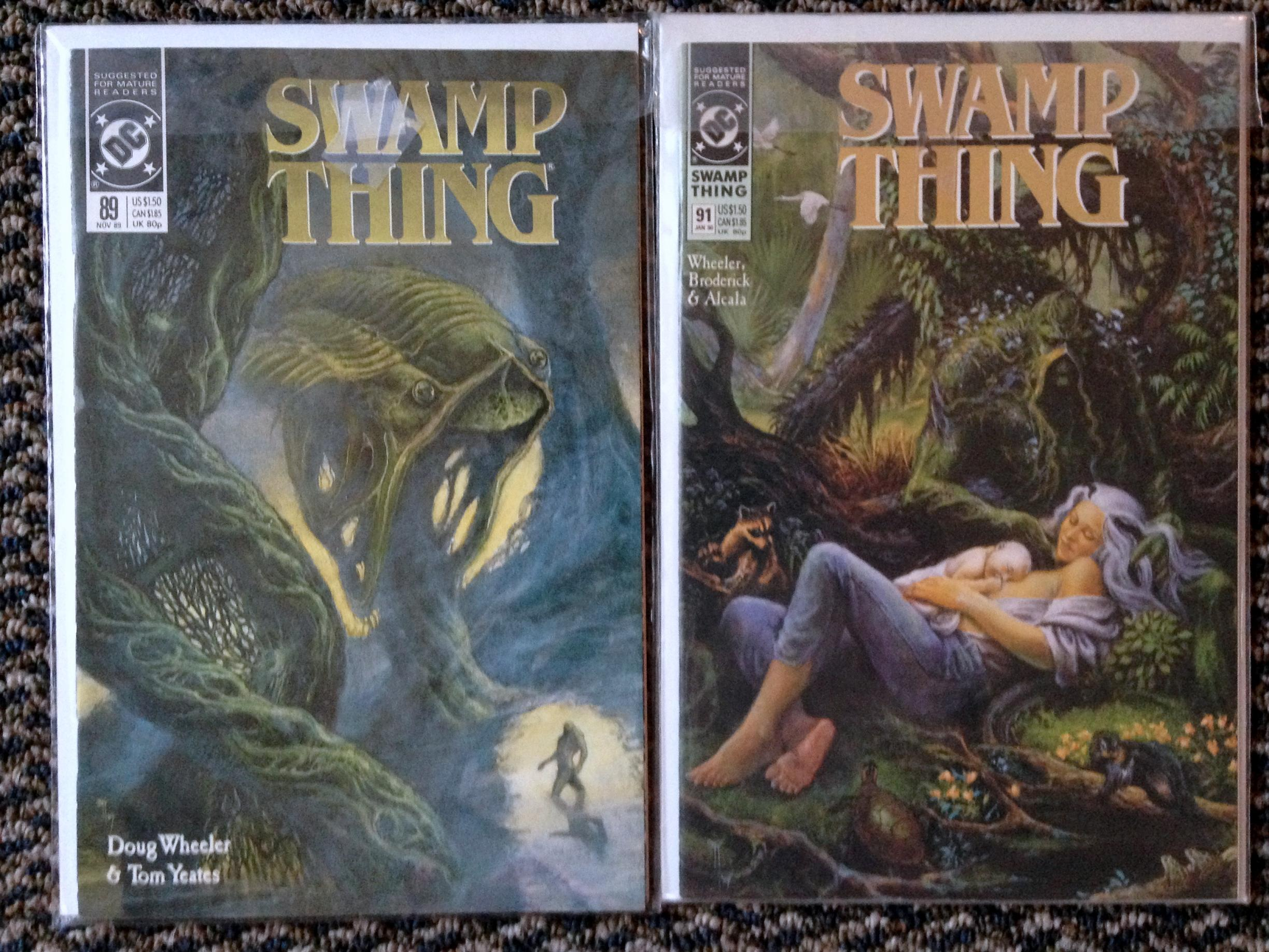 Swamp Thing Rick Veitch collection (6)