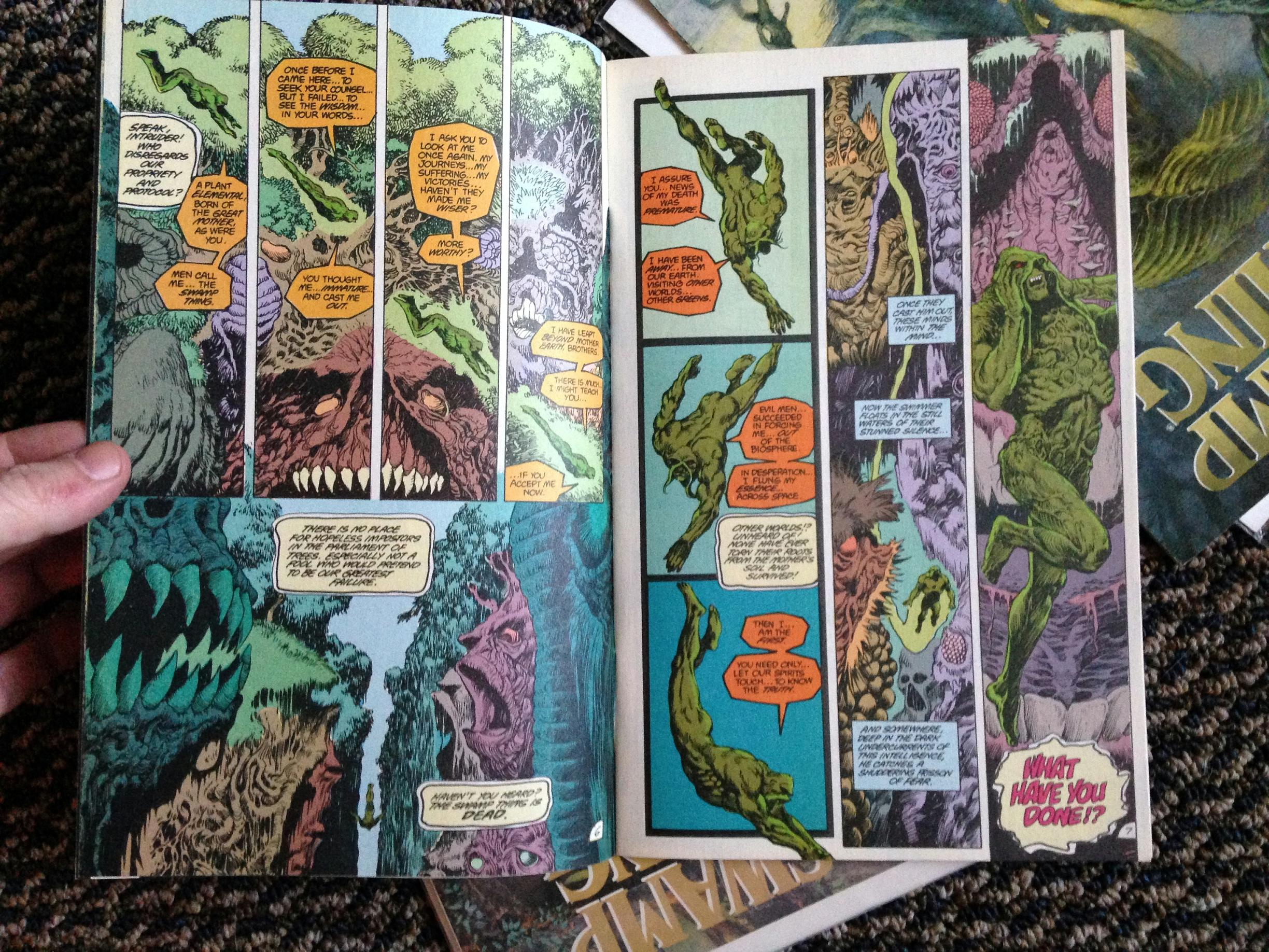 Swamp Thing Rick Veitch collection (7)