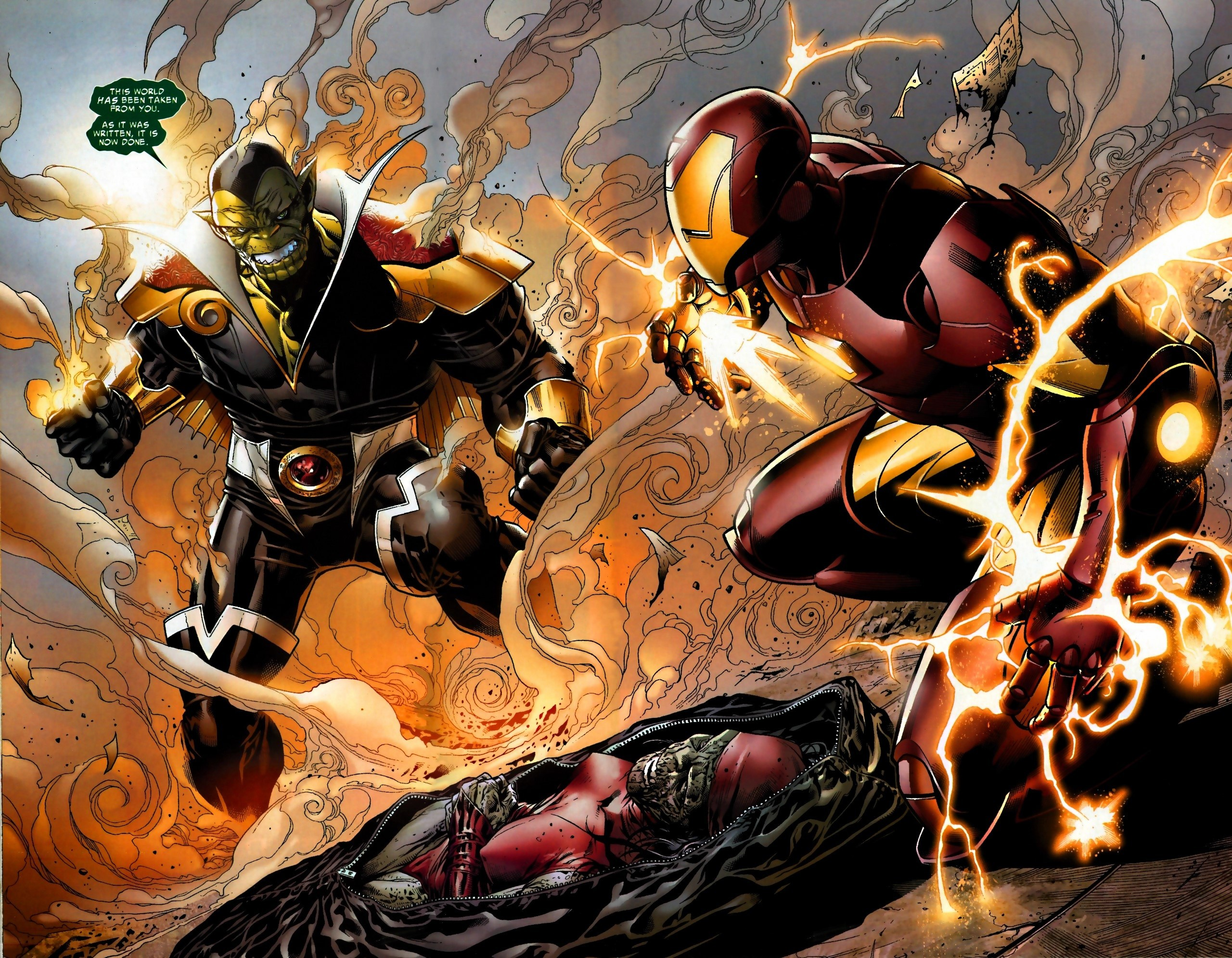 The New Avengers Illuminati 5- (11)