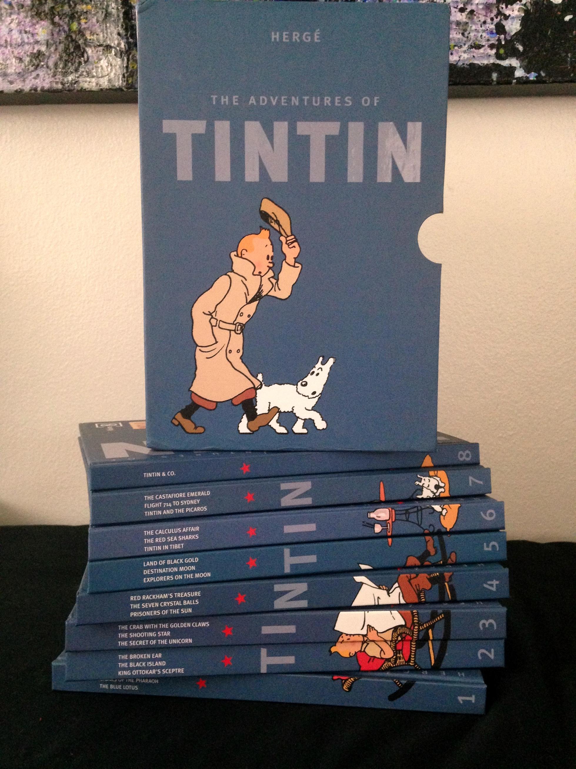 Tintin Boxed Set (2)