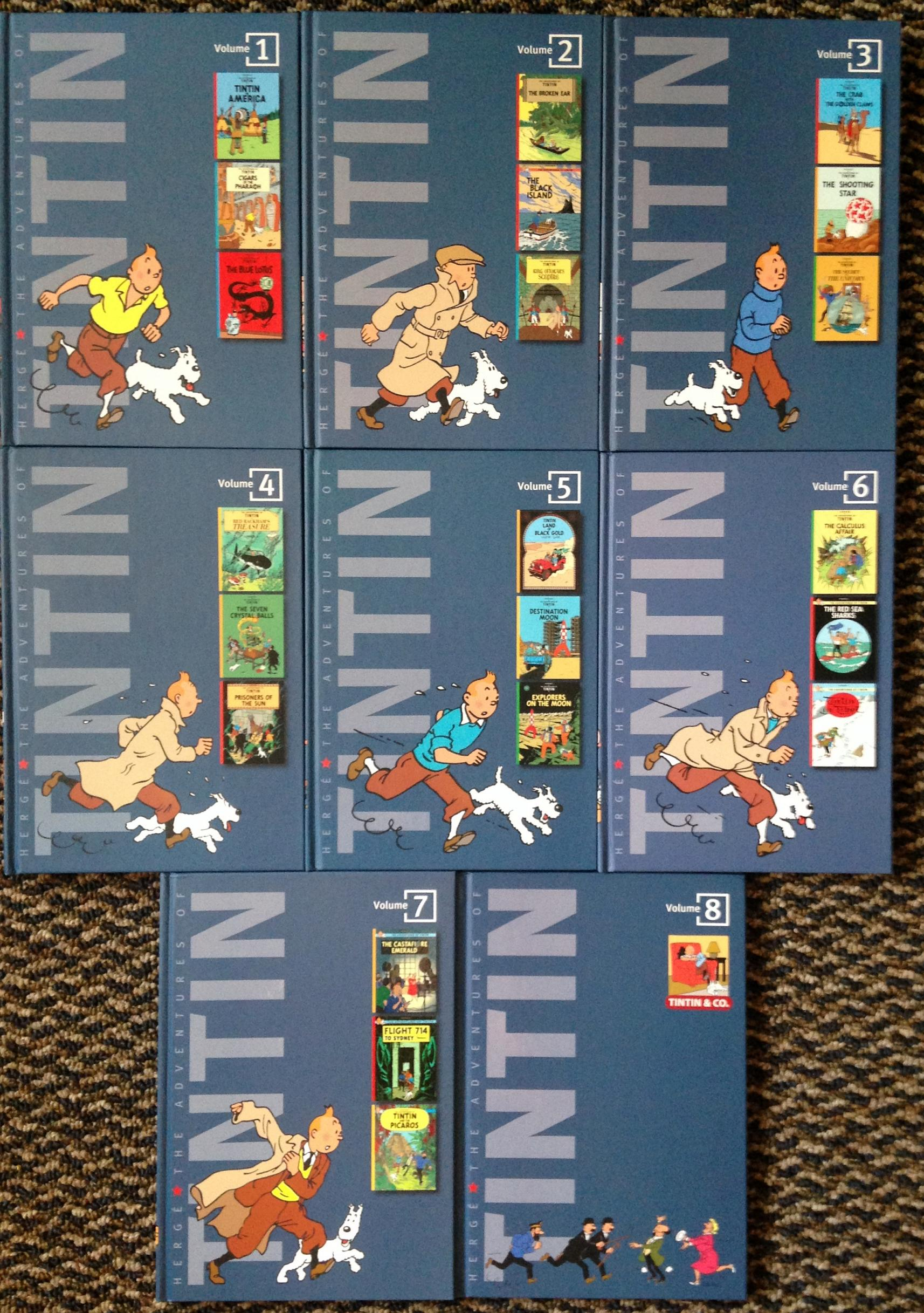 Tintin Boxed Set (3)