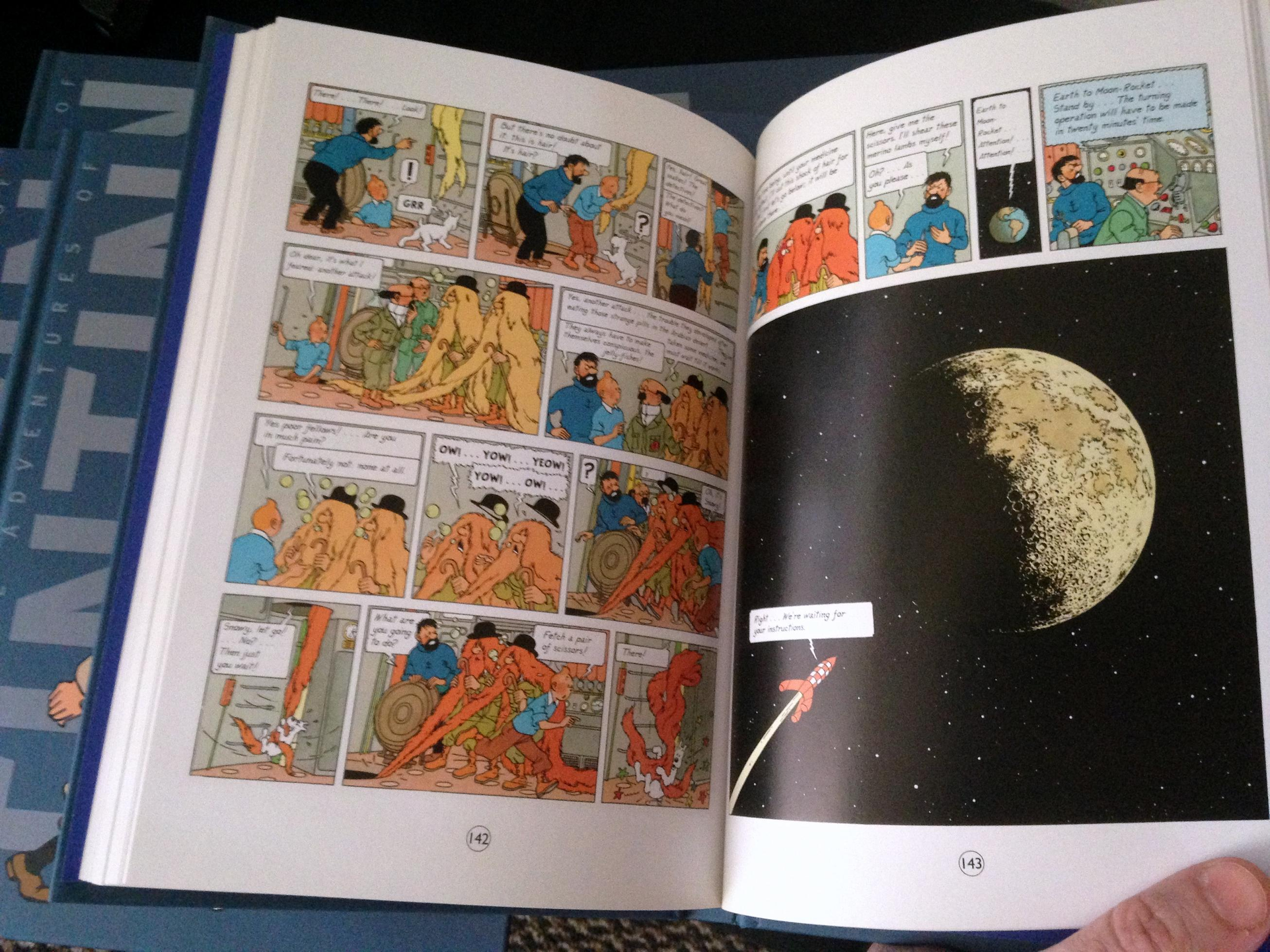 Tintin Boxed Set (7)