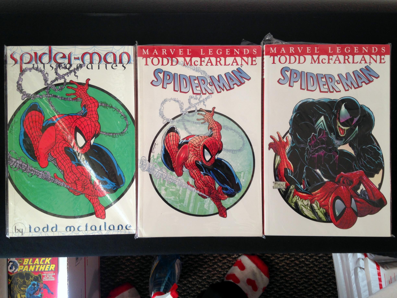 Todd McFarlane Amazing Spider-man TPB Set (2)