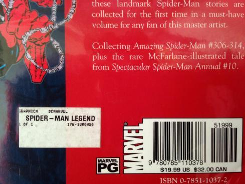 Todd McFarlane Amazing Spider-man TPB Set (4)