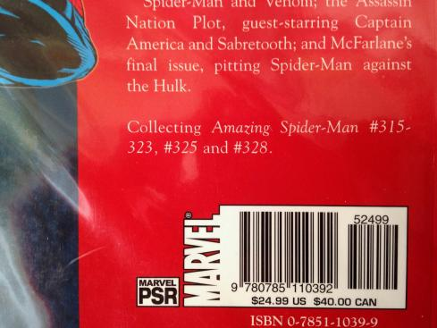 Todd McFarlane Amazing Spider-man TPB Set (5)