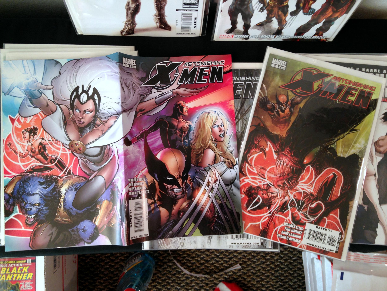 warren ellis astonishing x-men collection (10)
