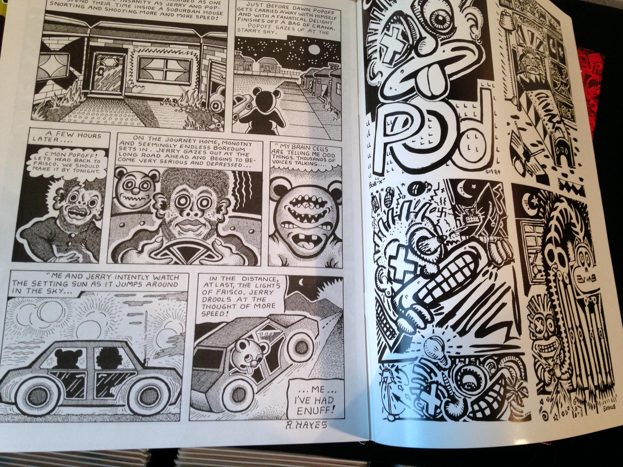 Weirdo Magazine Collection (14)