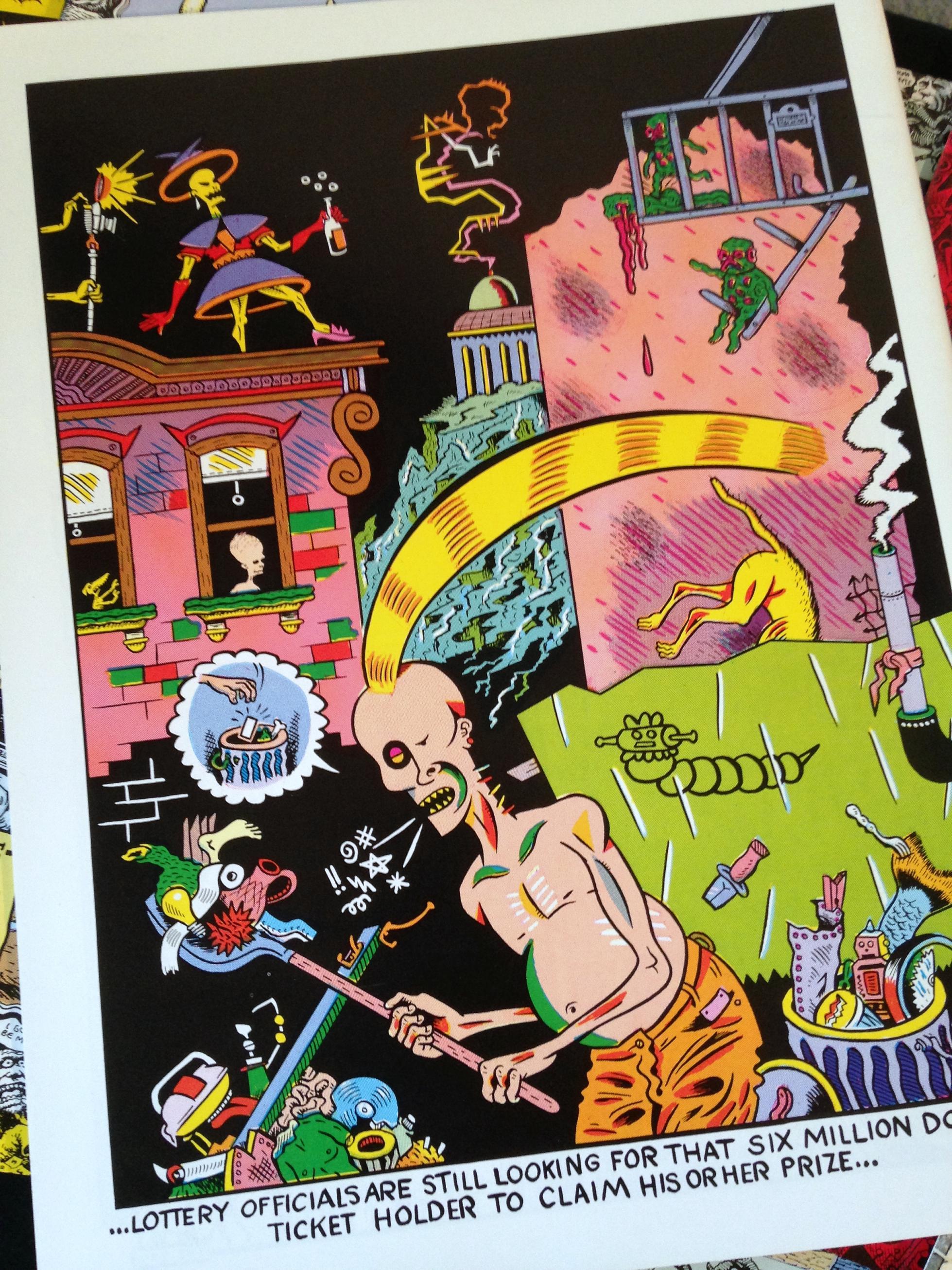 Weirdo Magazine Collection (9)