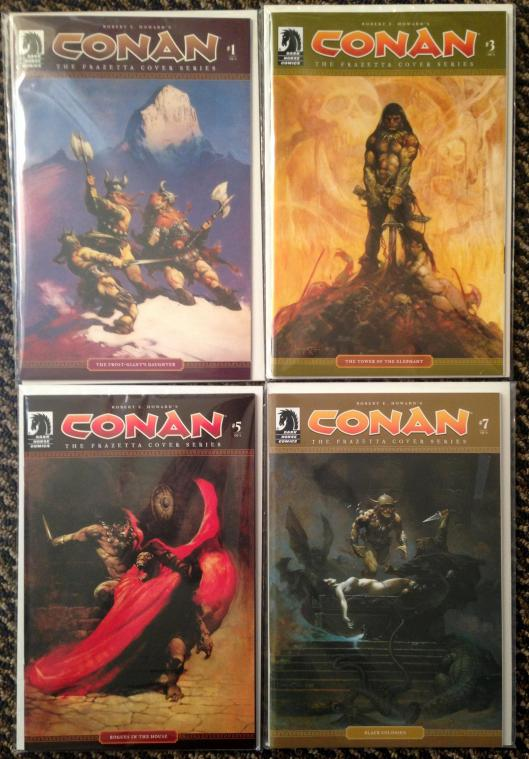 conan dark horse frazetta cover series (2)