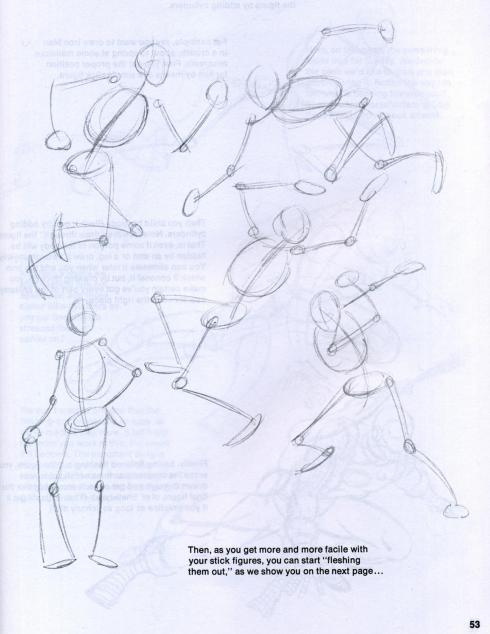 john buscema figure and head lessons (5)