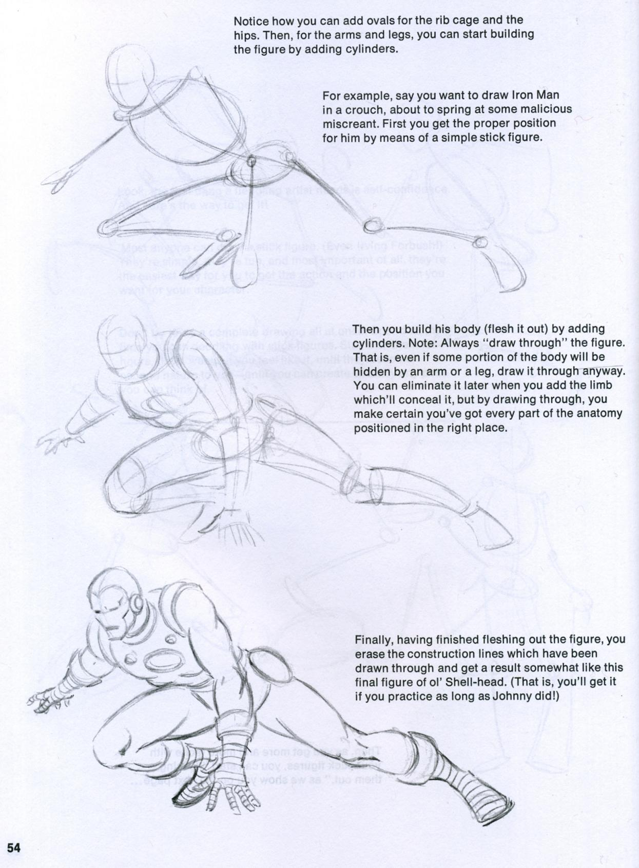 john buscema figure and head lessons (6)