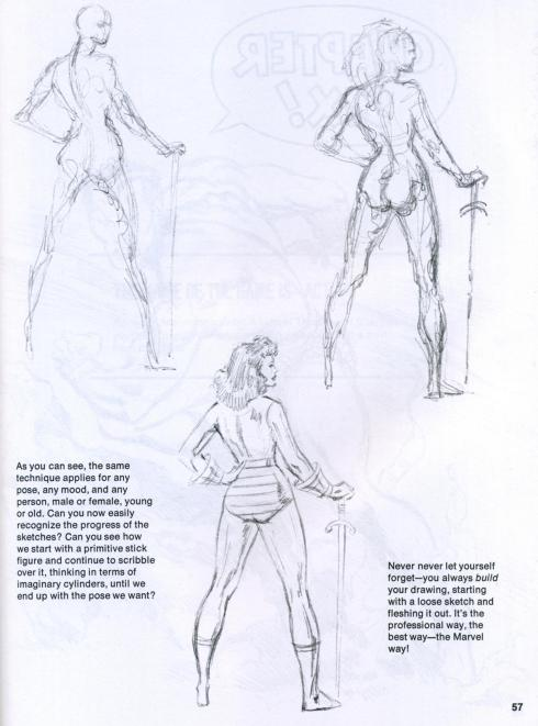john buscema figure and head lessons (9)
