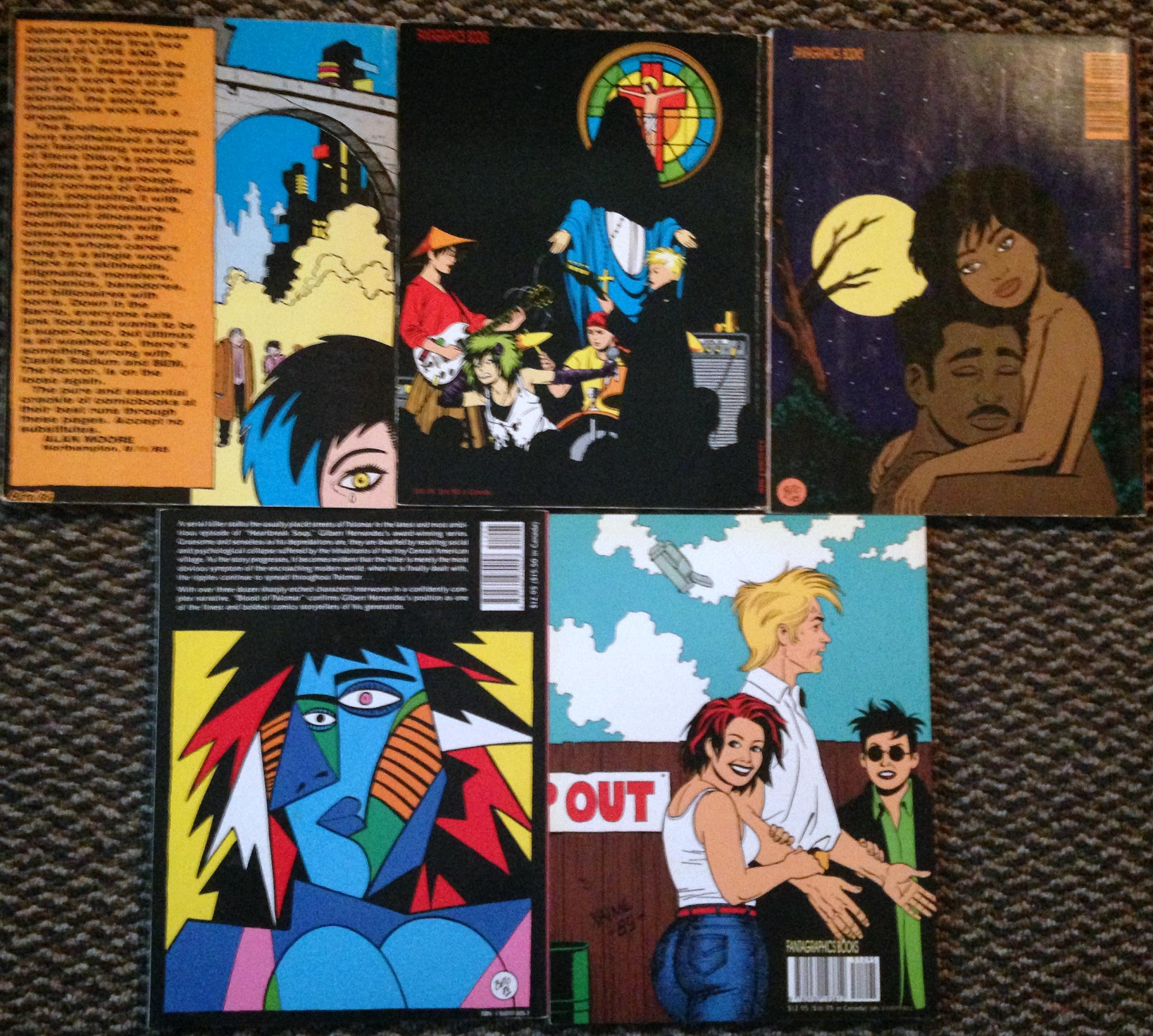 love and rockets tpb set (3)