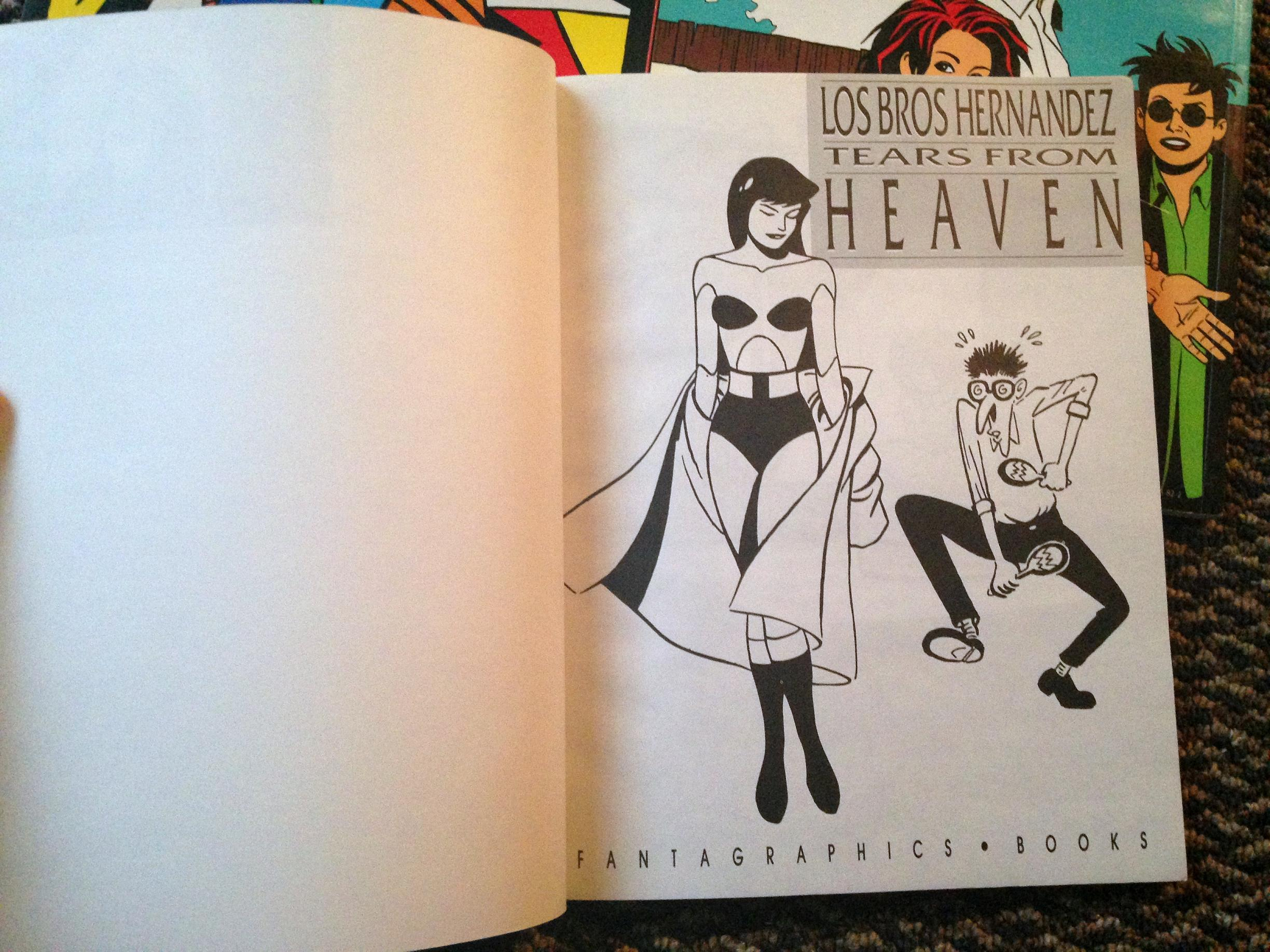 love and rockets tpb set (8)