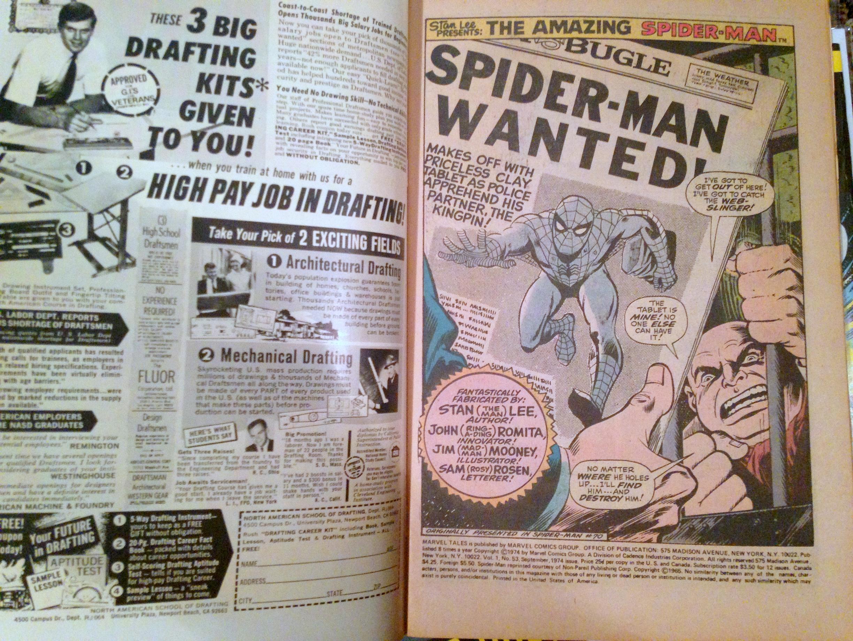 marvel tales spider-man romita 36-71 lot (16)
