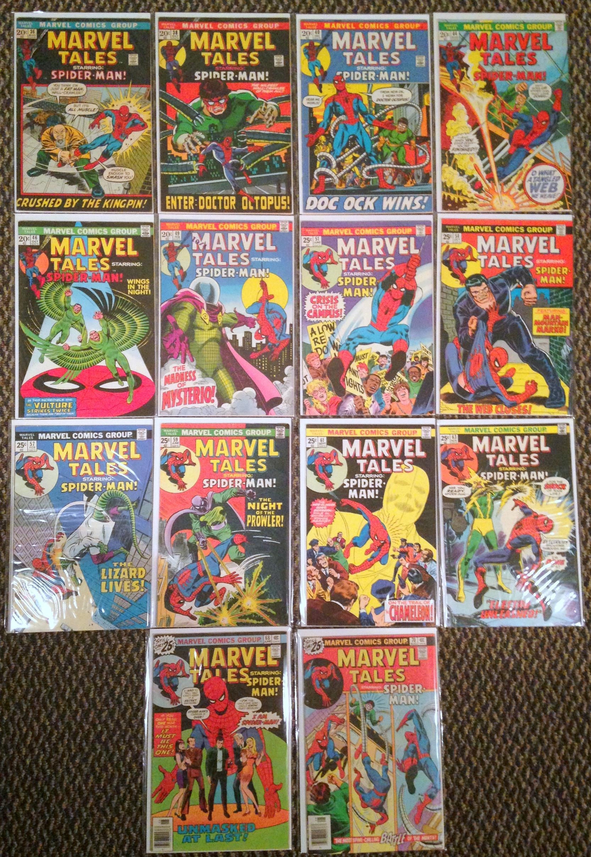 marvel tales spider-man romita 36-71 lot (2)