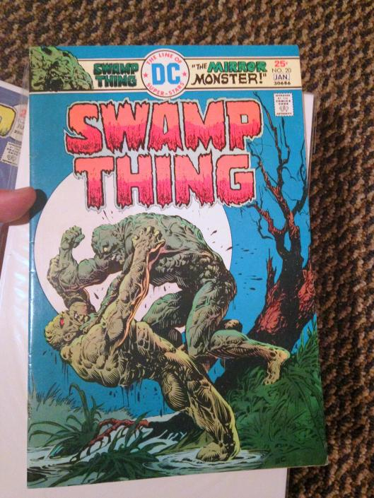 swamp thing vol 1 4-24 lot (18)