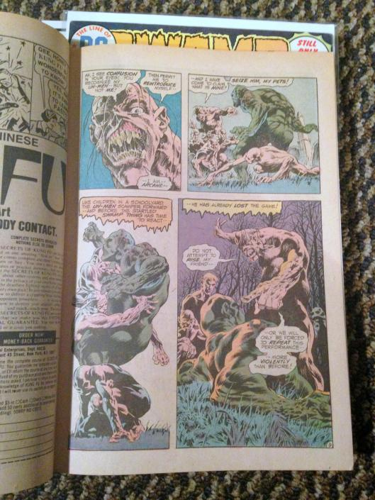 swamp thing vol 1 4-24 lot (23)