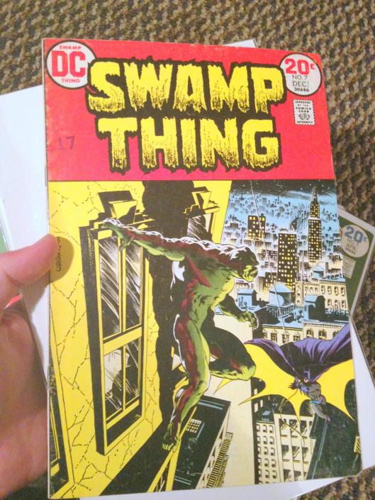swamp thing vol 1 4-24 lot (8)
