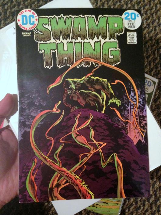 swamp thing vol 1 4-24 lot (9)