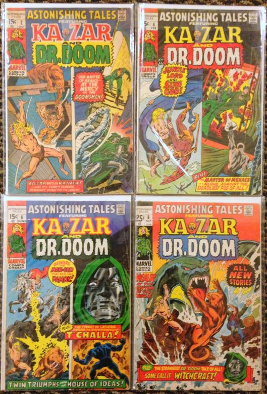 astonishing tales 1-8 ka-zar doom set (3)