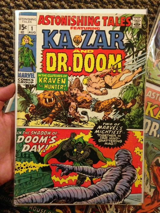astonishing tales 1-8 ka-zar doom set (4)