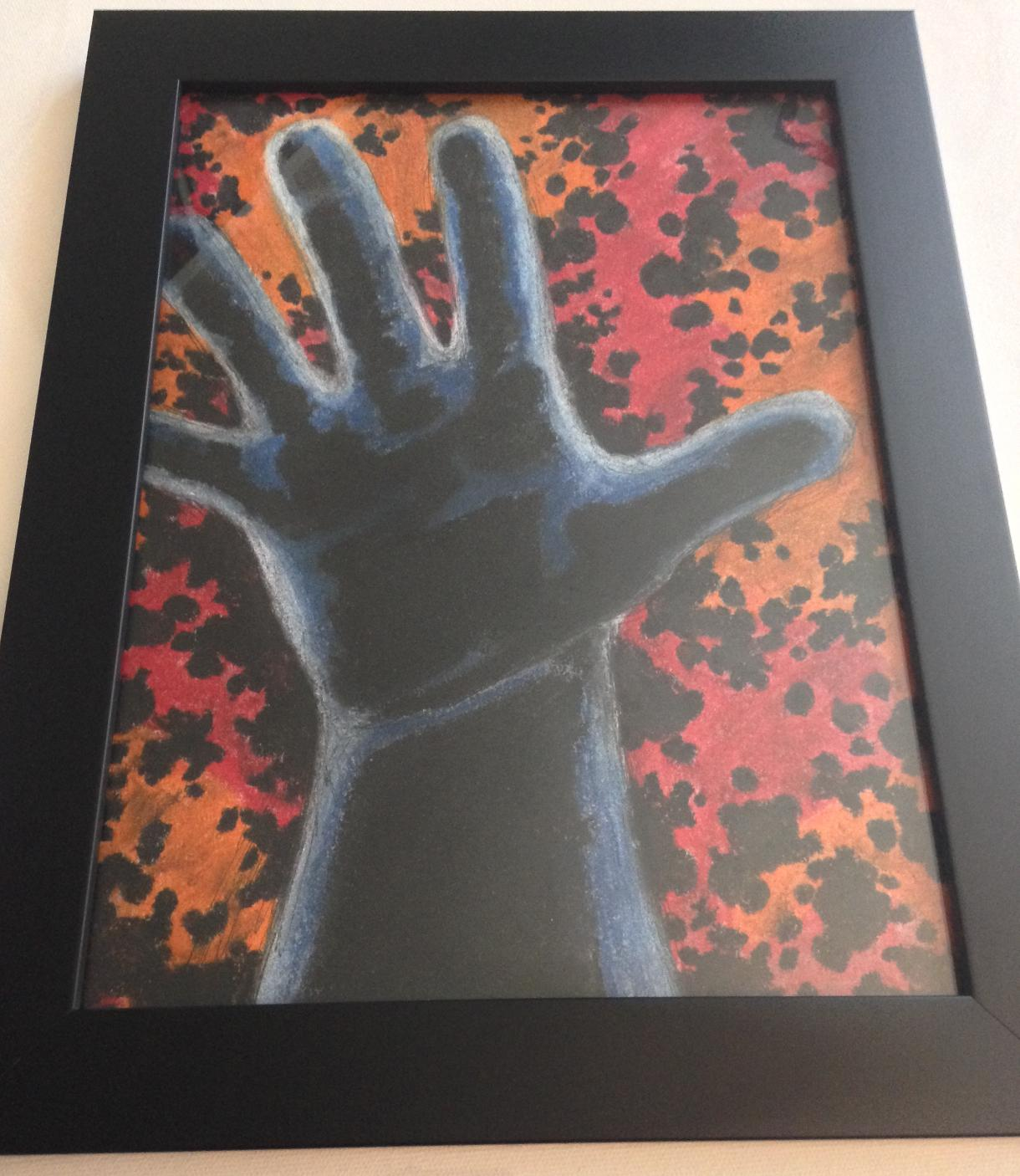 cosmic hand framed (4)