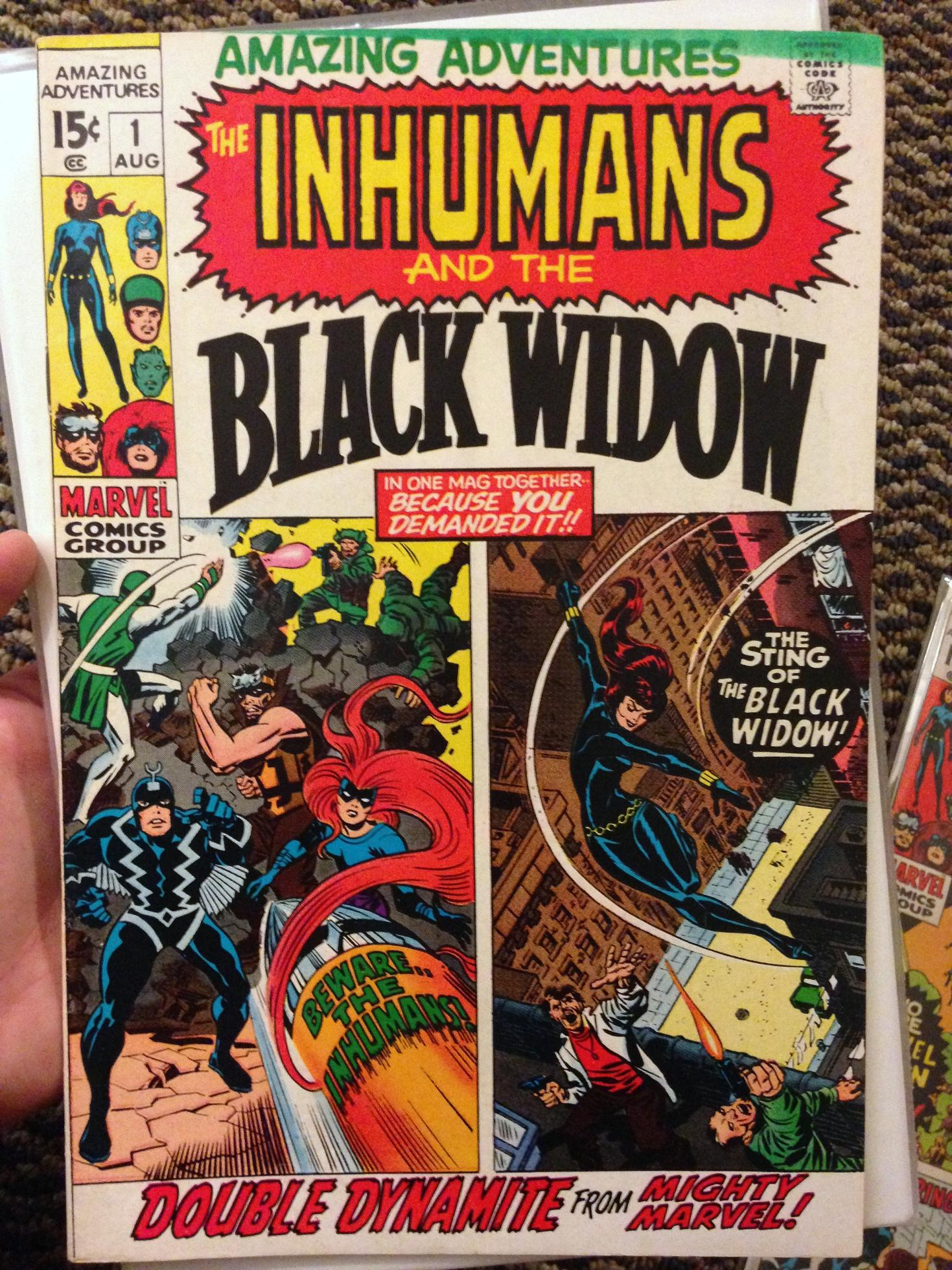 inhumans collection (1a)