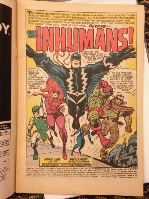 inhumans collection (1b)