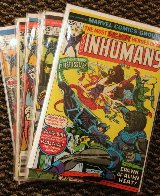 inhumans collection (1e)