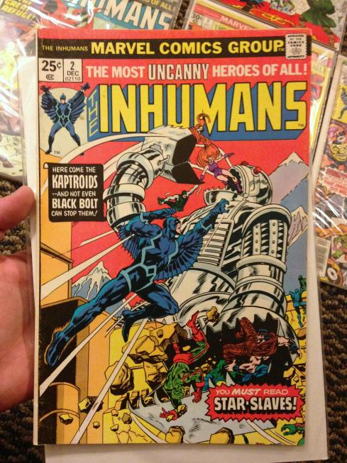 inhumans collection (1g)
