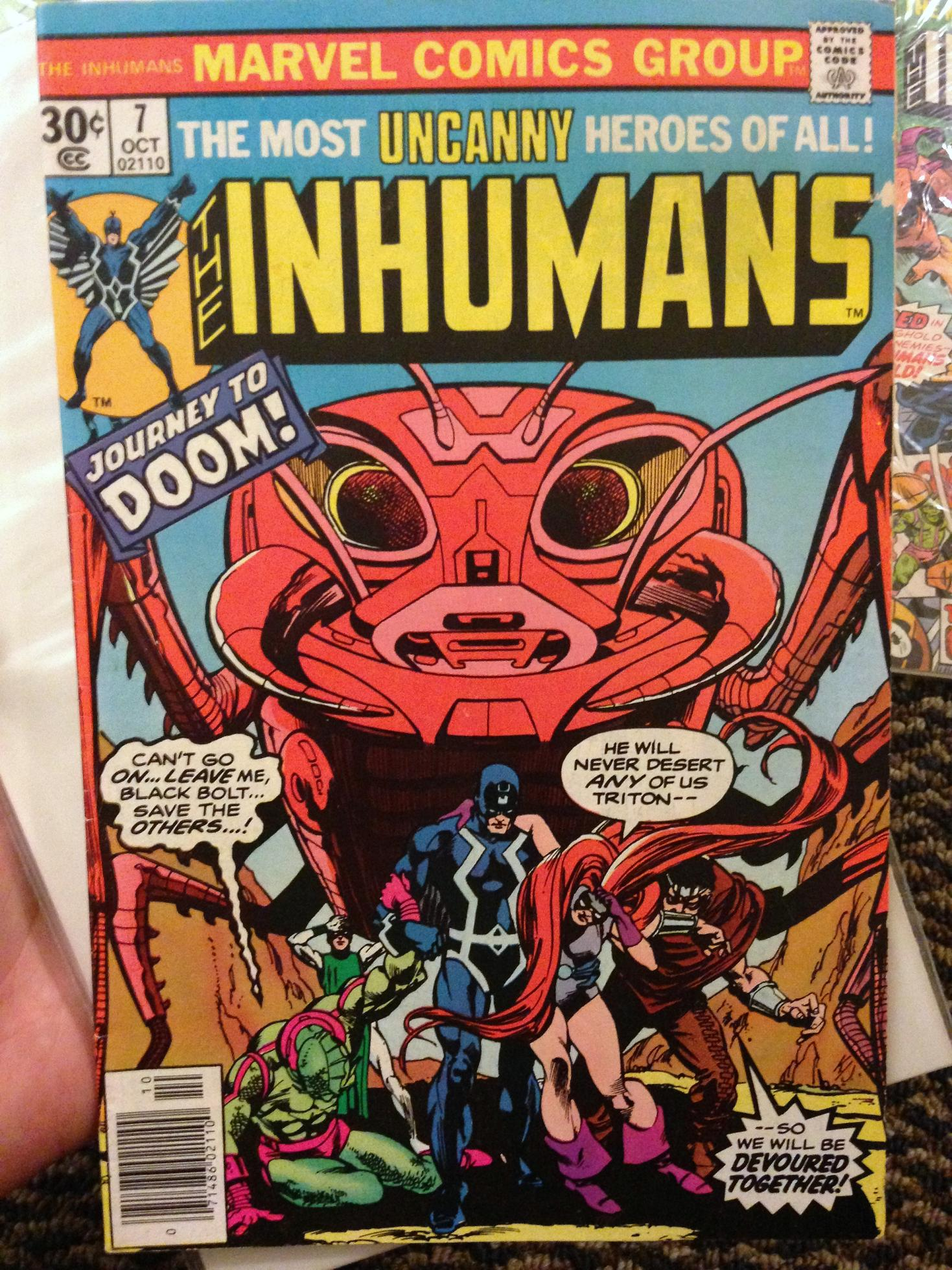 inhumans collection (1i)
