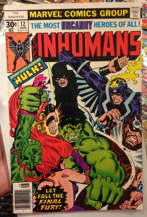 inhumans collection (1j)