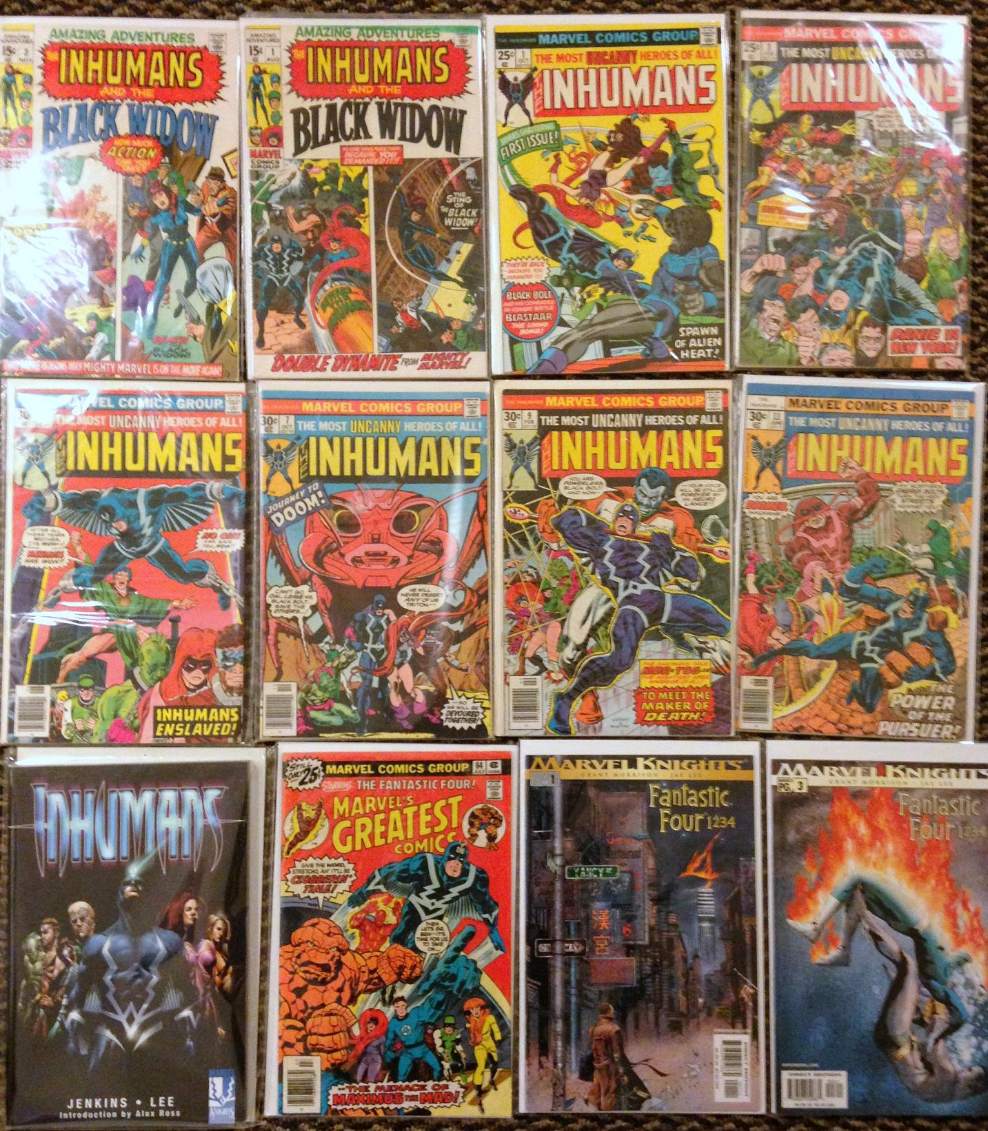 inhumans collection (2)