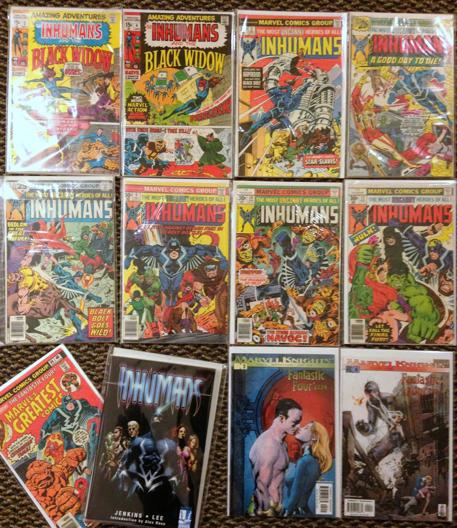 inhumans collection (3)