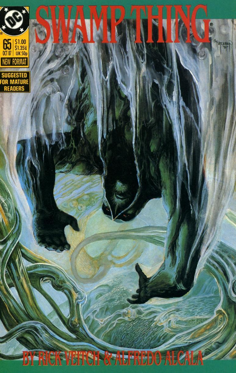 swamp thing 65-001