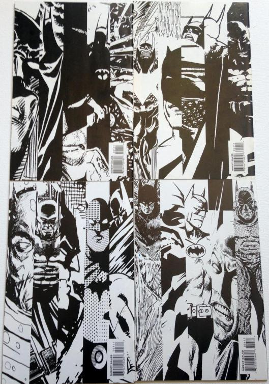 batman black and white set (4)