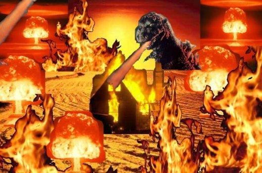godzilla and the atomic heat wave