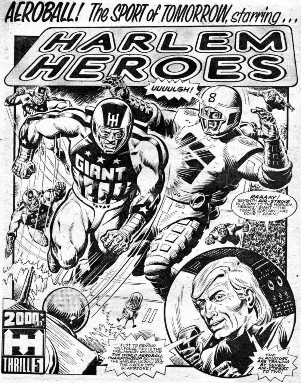 Harlem Heroes 2000AD 1-20 (2)