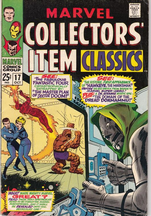 marvel collectors item classics (1a)