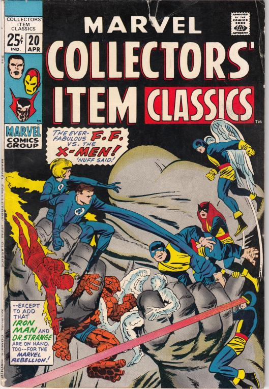 marvel collectors item classics (1b)