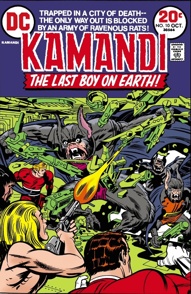 Kamandi #10, Jack Kirby